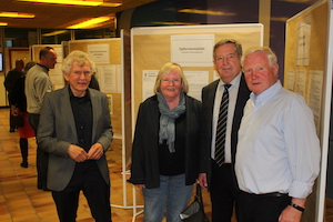 Roman Protzak, Sigrid Kuhlwein, Rüdiger Hildebrandt, Dr. Norbert Weppelmann
