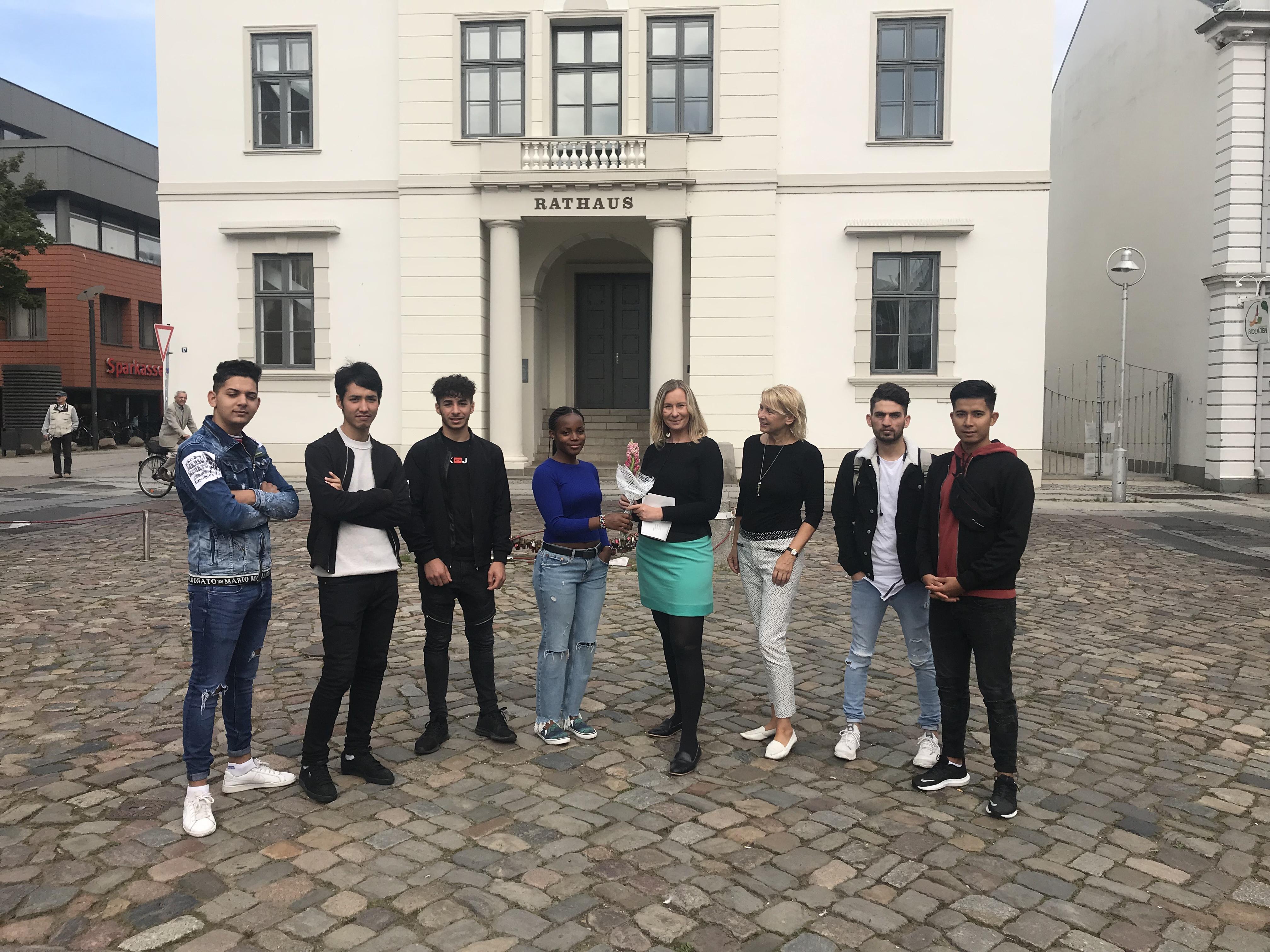 Besuch Der Ad19b In Der Stadtverwaltung Bad Oldesloe